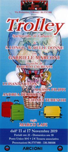 TROLLEY spettacolo di cabaret di Silvestro Longo e Valter Delle Donne
