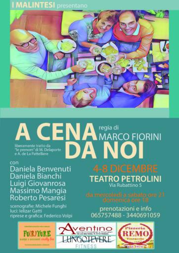 A CENA DA NOI , Adattamento e regia di Marco Fiorini