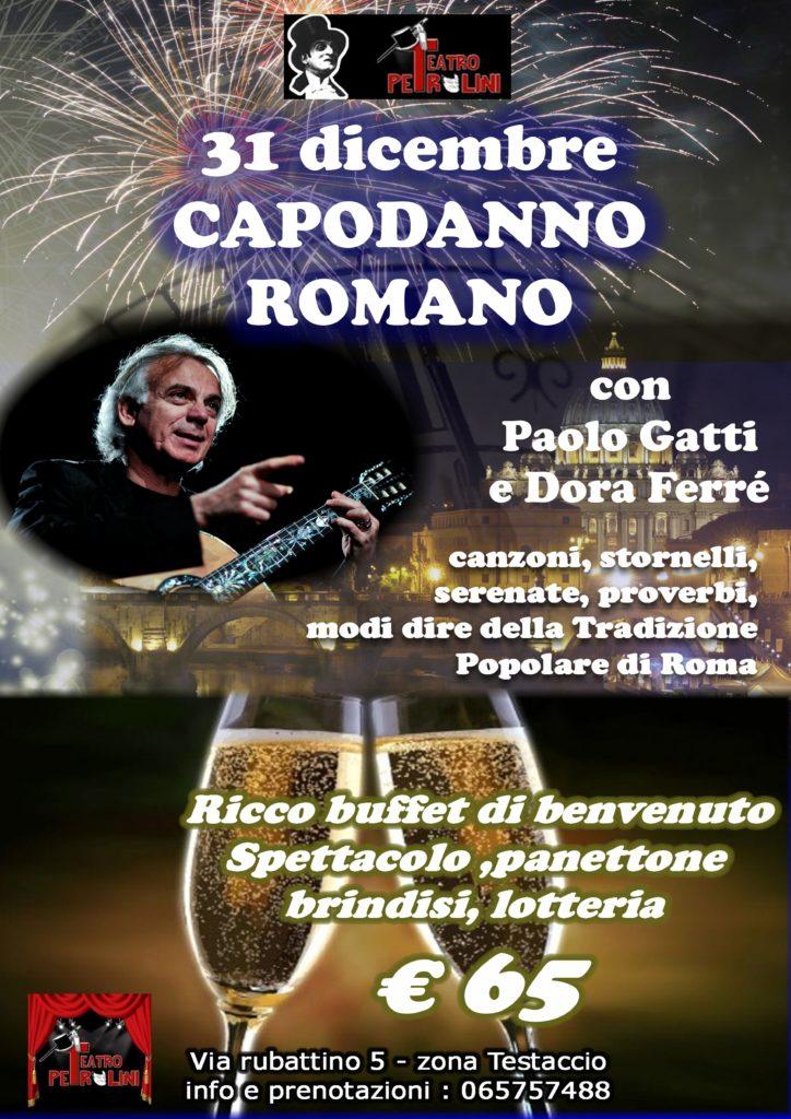 CAPODANNO ROMANO con Paolo Gatti e Dora Ferré
