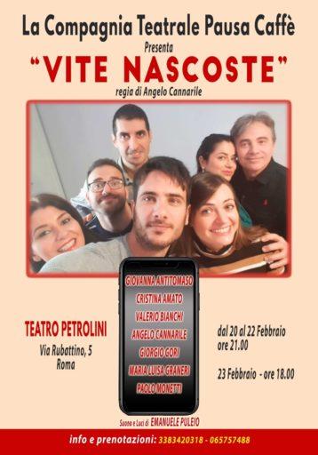 VITE NASCOSTE – scritto e diretto da Angelo Cannarile