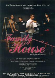 family house - locandina