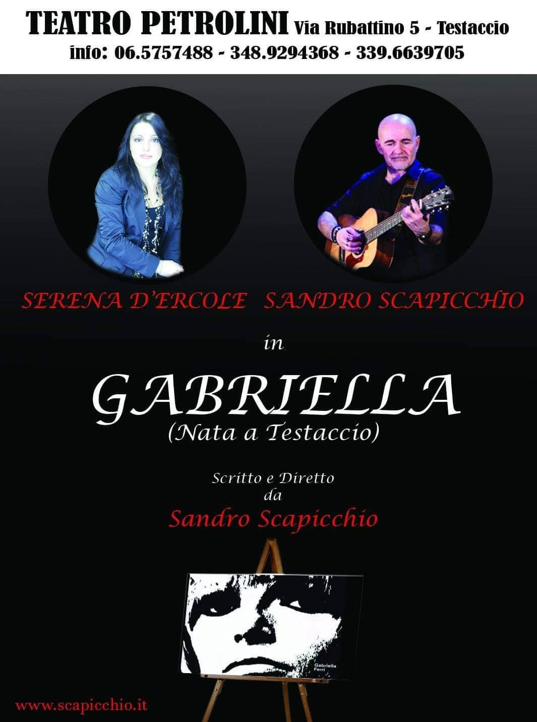 Gabriella - Nata a Testaccio