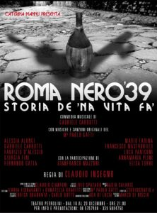 Roma nero '39 - Storia de na vita fa