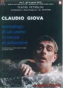 claudio giova - locandina