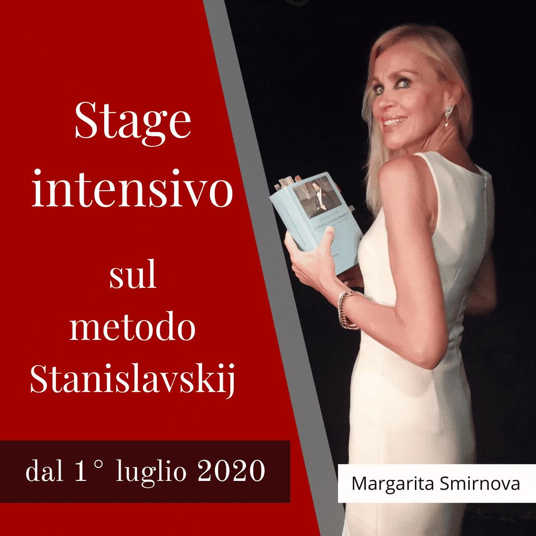 Stage estivo sul metodo Stanislavskij - Margarita Smirnova