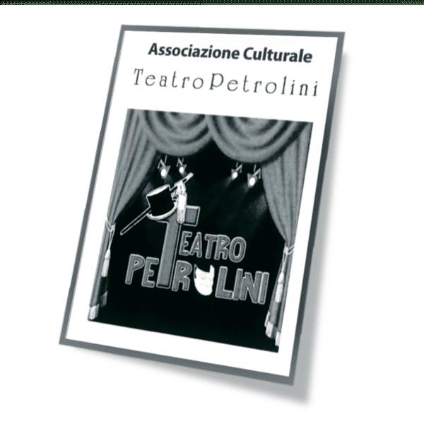 Tessera associativa Ass Cult Teatro Petrolini